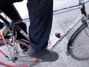 souliers vélo d'hiver