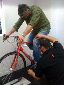 Positionnement vélo