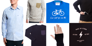 collection de vêtements de vélo urbain