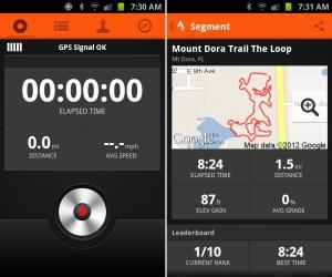 App pour cycliste