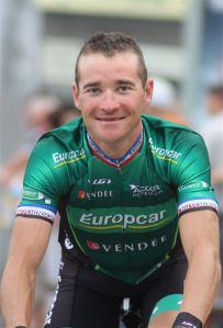 Thomas Voeckler maillot ancien champion national Français