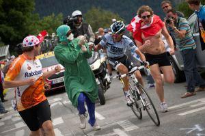 Supporter courant au Tour de France