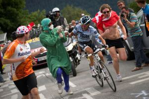 Supporter courant au Tour de France