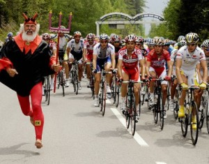 Diable rouge Tour de France