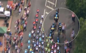 Selfie premières étapes du Tour de France 2014