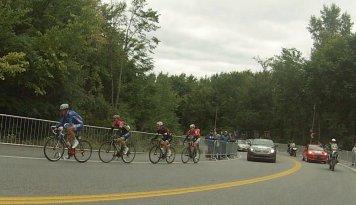 L'échapée du Grand Prix cycliste de Montréal 2014