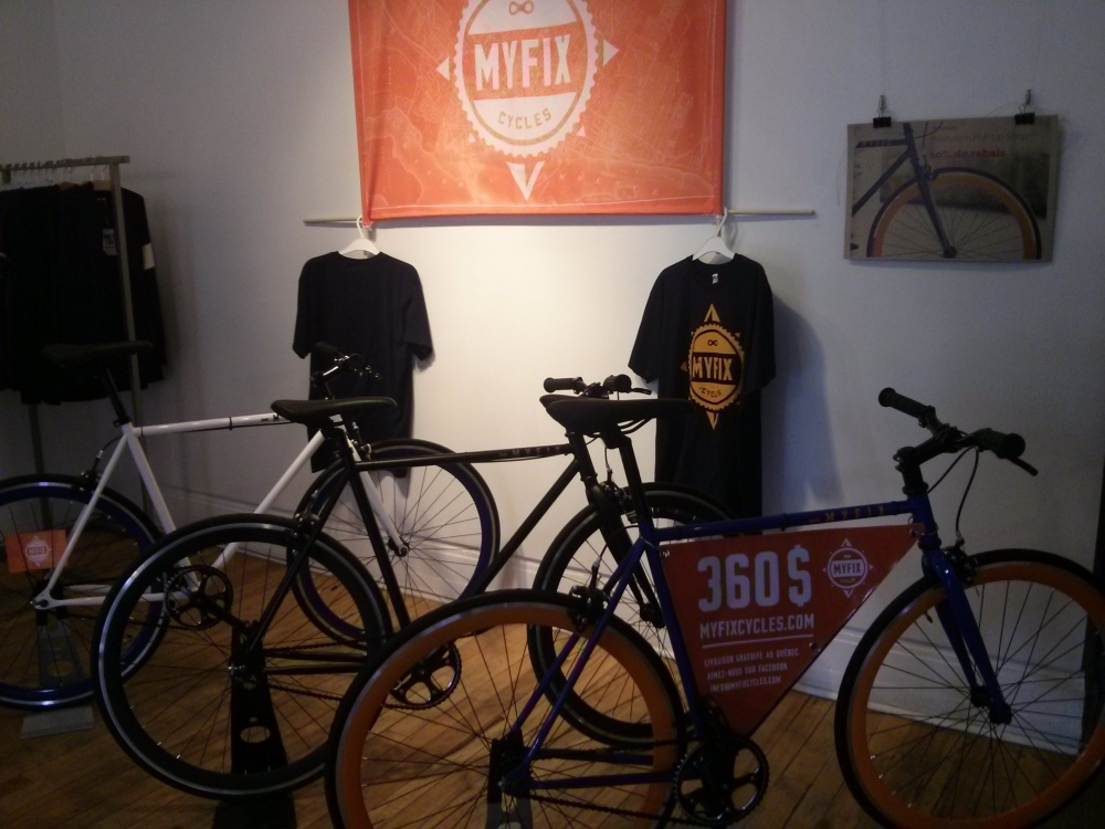 Myfix cycles pop up shop
