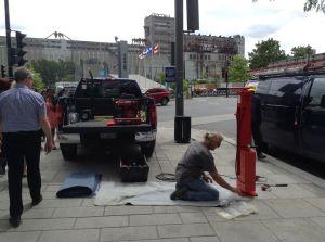 stations de réparation de vélo de la Ville de Montréal
