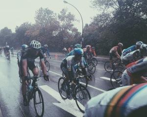 Grand Prix cycliste de Montréal sous la pluie