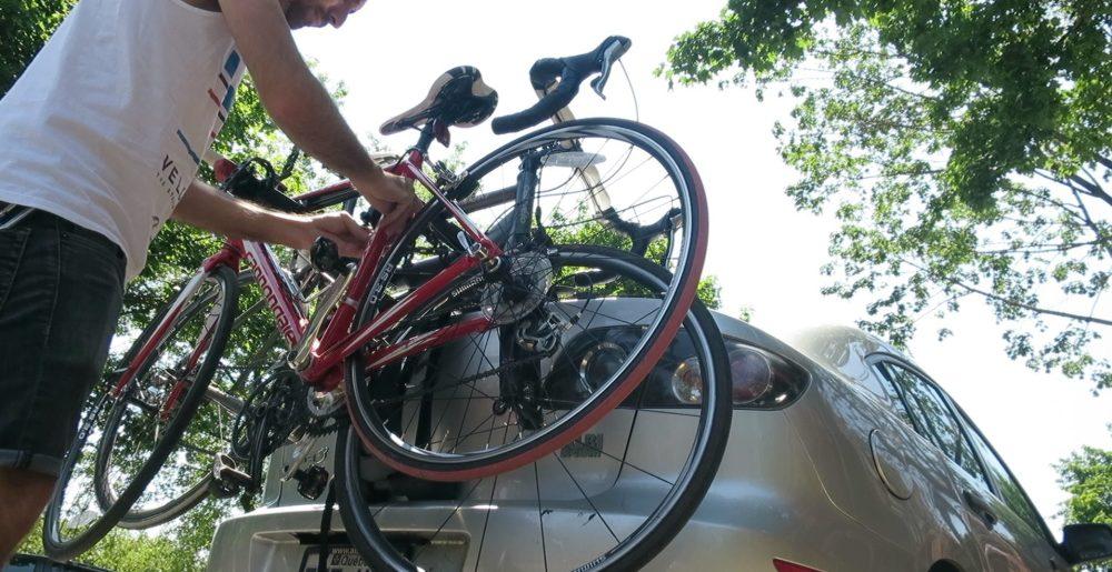Support à vélo pour auto2