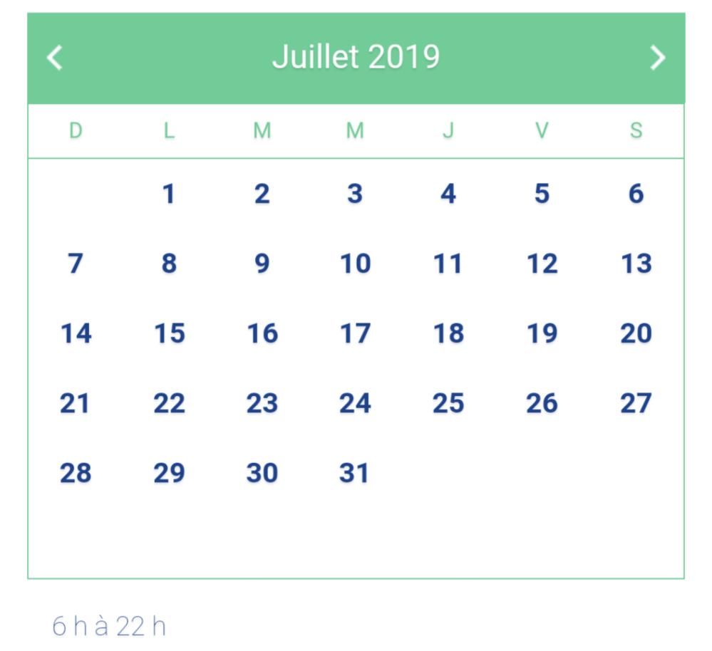Horaire Cyclistes circuit Gilles-Villeneuve juillet