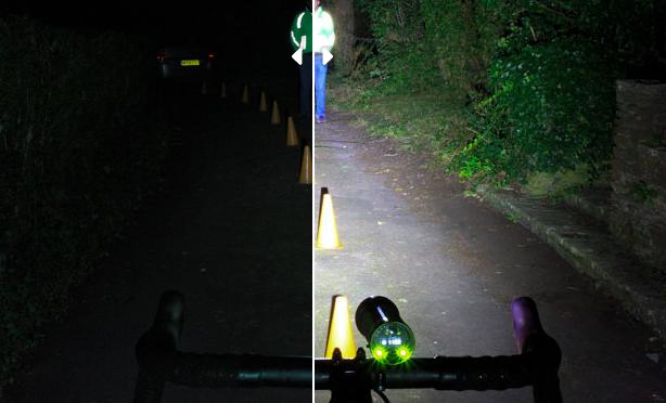 Lumières de vélo : 100 lumens vs 2 400 lumens