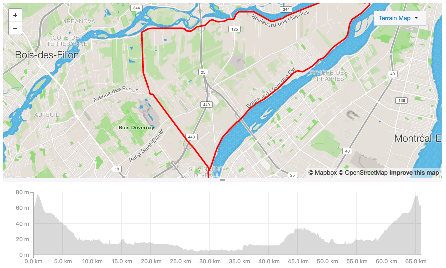 Plateau Mont-Royal to Boulevard Loop