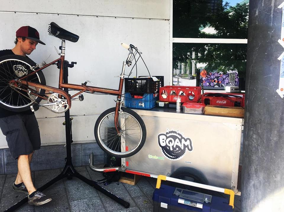 BQAM - atelier de vélo communautaire