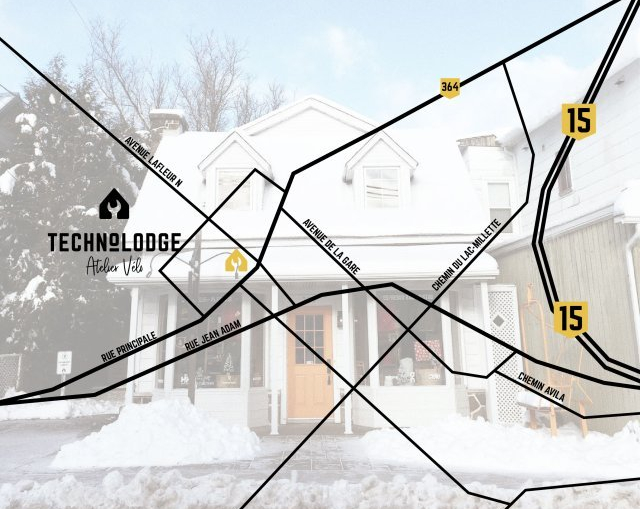 Technolodge café cycliste des Laurentides