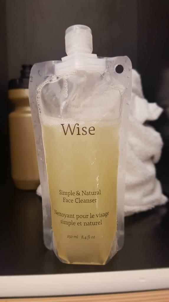 Wise Nettoyant pour le visage simple et naturel